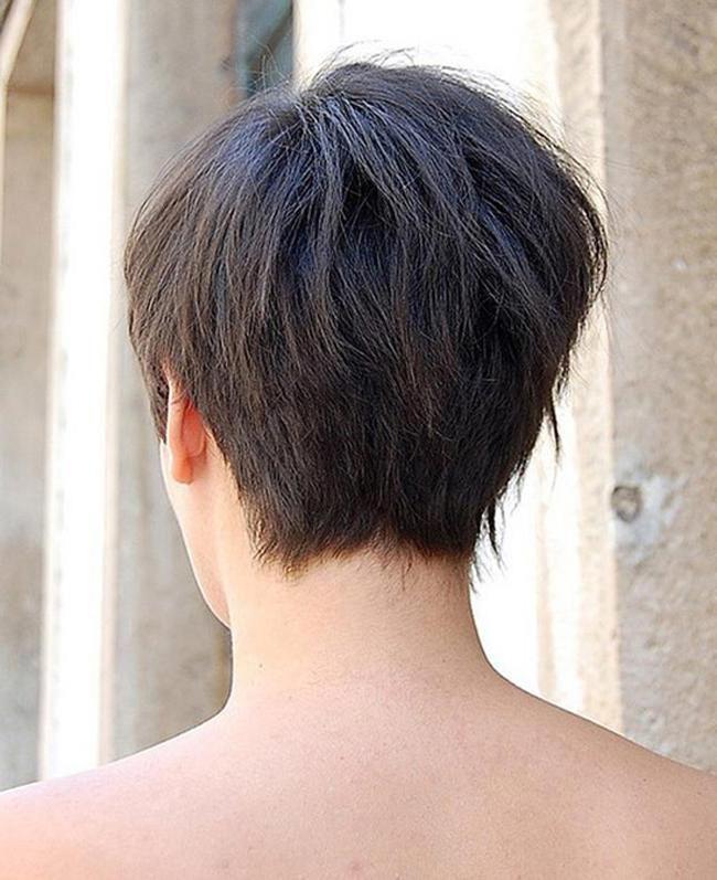Kurzhaarfrisuren Damen Hinterkopf Neue Und Trend Frisuren Bob Frisur Kurzhaarfrisuren Kurzhaarfrisuren Damen Nacken