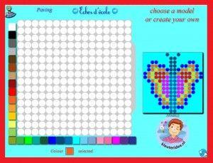 Korálkové Plank 2 deti na interaktívnej tabuli alebo počítačovej kleuteridee.nl