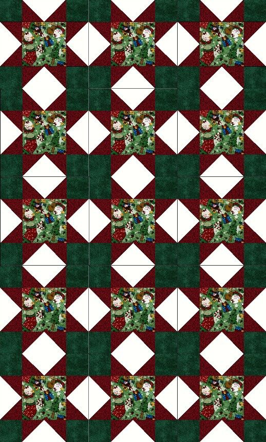 Homecoming for Christmas Quilt Kit Precut