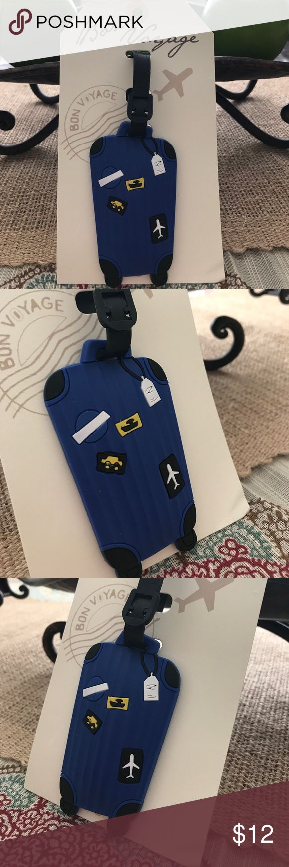 What does my phone number spell - Luggage Tag Bon Voyage Easily Identify Your Luggage With This Sizable And Durable Highly Recognizable