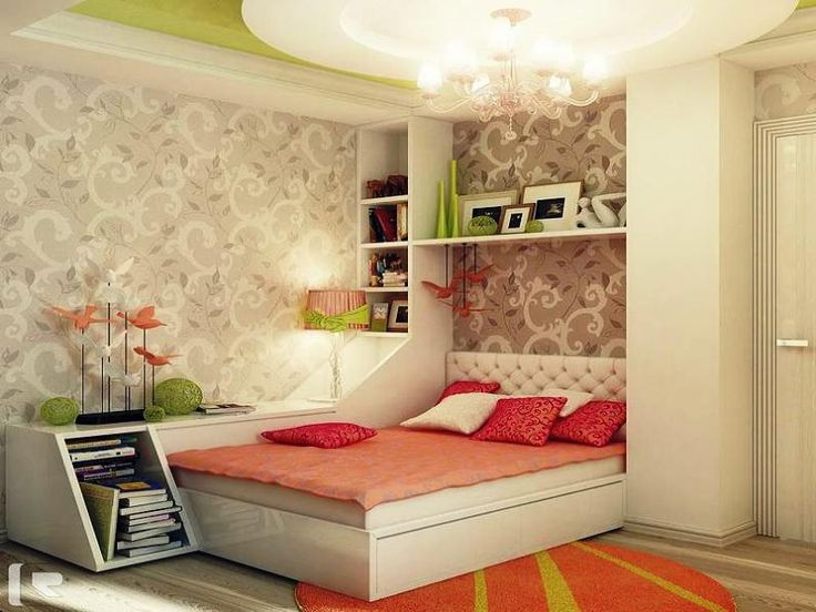 110 best images about quartos de adolescentes teens for Teenage girl room paint ideas