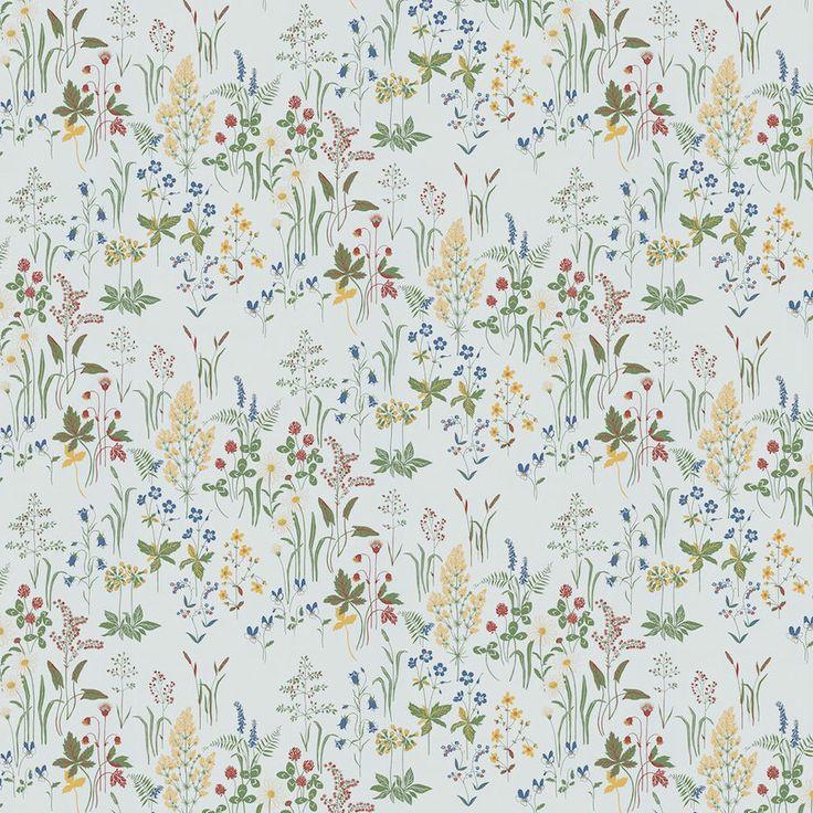 tienda online telas & papel | Papel pintado de flores Flora