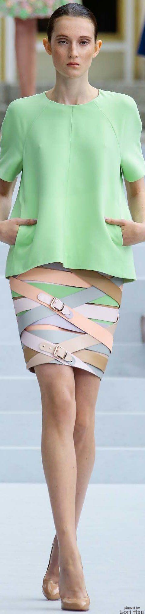 Marina Hoermanseder Spring 2016 RTW - Women's Belts - http://amzn.to/2hOqA0h