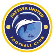 1989, Pattaya United F.C. (Chonburi, Thailand) #PattayaUnitedFC #Chonburi #Thailand (L11079)