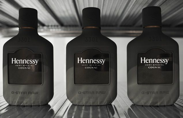 An essential fashion accessory that perfectly accommodates a small bottle of Hennessy V.S cognac.