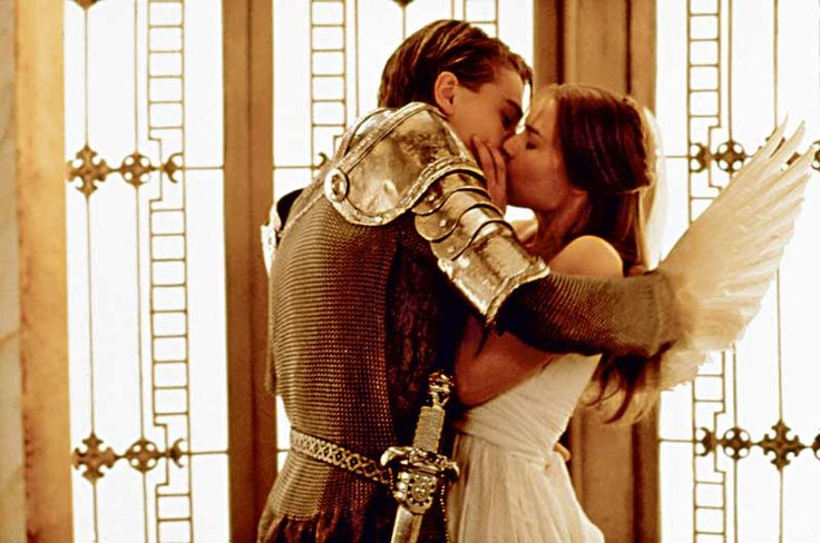 """O, then, dear saint, let lips do what hands do; They pray, grant thou, lest faith turn to despair."" Romeo + Juliet"