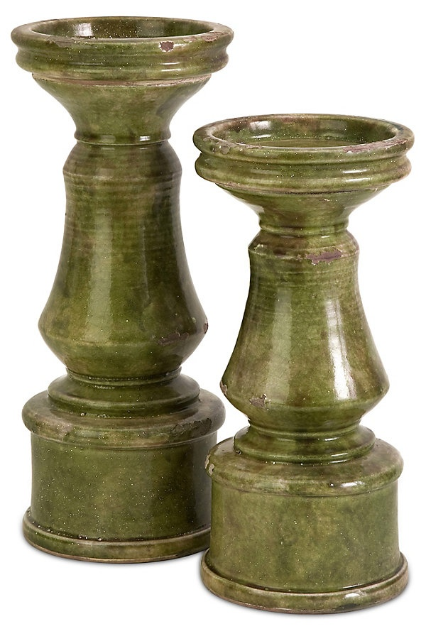 One Kings Lane - Accents with Character - Pillar Holders, Asst. of 2