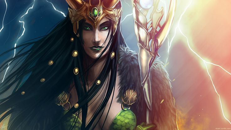 No one had any idea what Thor was and finally Loki was dressed up as a vampire. Description from deviantart.com. I searched for this on bing.com/images