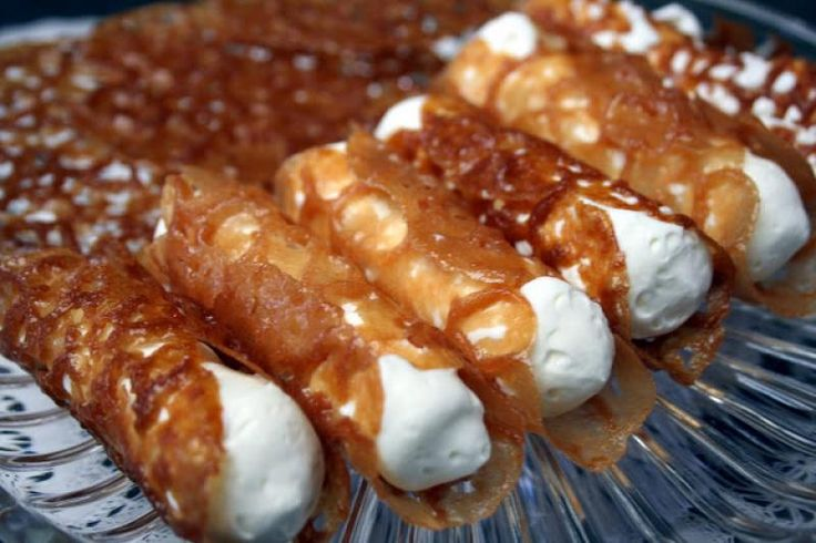 Brandy Snaps Recipe from The Bakers Dozen