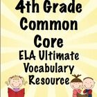 Vocabulary is essential! Help your students master the vocabulary from the 4th Grade ELA Common Core Standards. This 200 page printable packet includes a printable word wall, flip books, domain headings, and flash cards. This will save you HOURS of work!Cores Standards, Vocabulary Resources, Printables Packets, Flip Books, Flash Cards, Student Master, Words Wall, Word Walls, Common Cores
