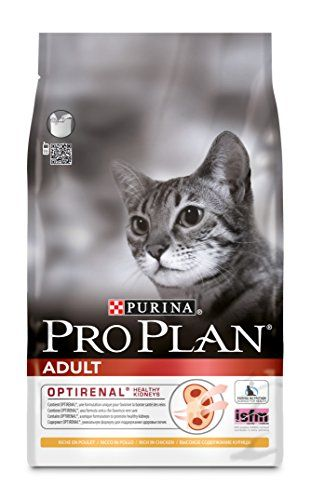 From 14.99:Purina Pro Plan Adult Cat Food Optirenal Rich In Chicken 3 Kg
