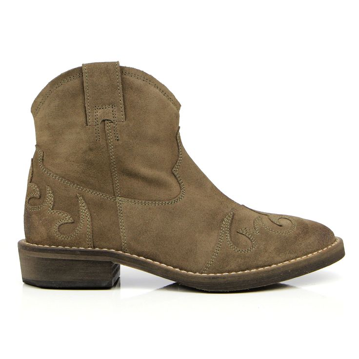 Our hand-crafted, stitched detail, western Annie boot is the perfect companion to denim http://sevenbootlane.com/collections/boots/products/annie-walnut-suede