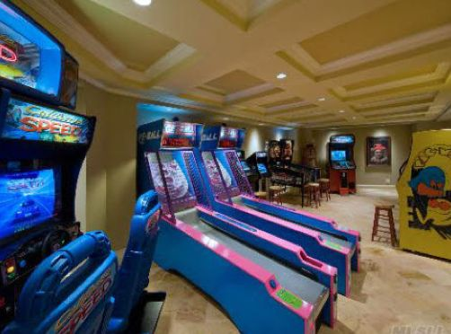 Every Man Cave Needs An Arcade Room Adjoining It