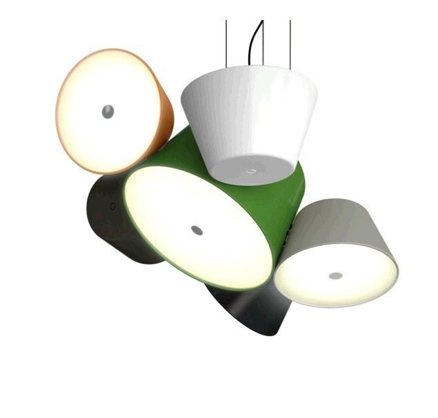 De TAM TAM hanglamp met 5x satelliet koop je natuurlijk op Poaa.nl