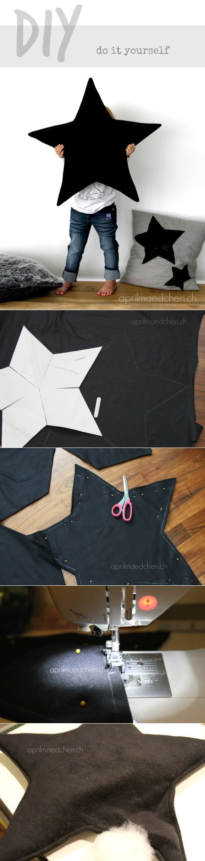 подушка-звезда | ХэндМейд и рукоделки | Постила