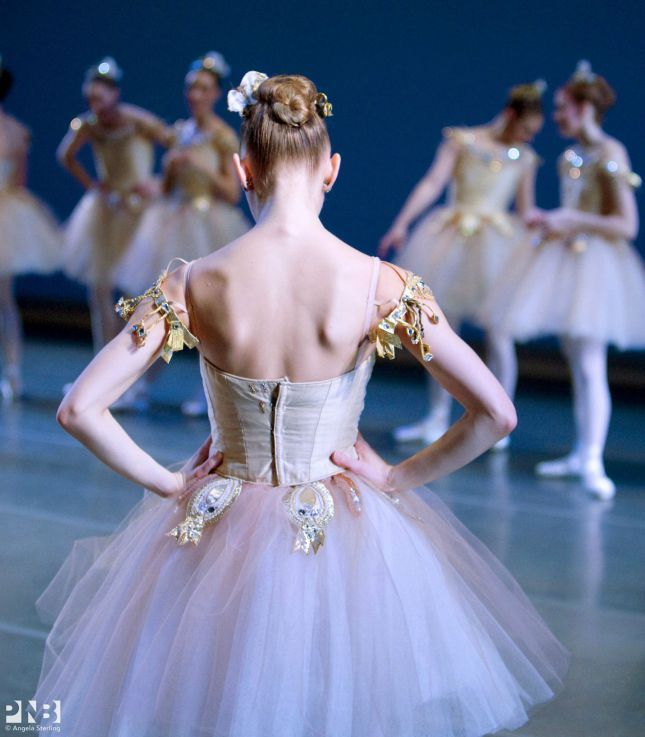 """Leanne Duge, """"Diamonds"""" from """"Jewels"""" (George Balanchine), Pacific Northwest Ballet"""