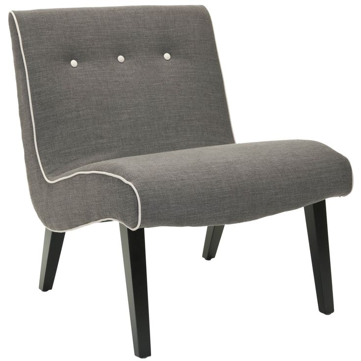 Safavieh Noho Grey Lounge Chair | Overstock.com