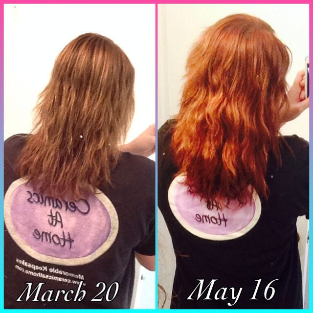 Just another update on my biotin results! I have been on it for two months now and the outcome is awesome! I definitely recommend this product if you are trying to grow out your hair!(: