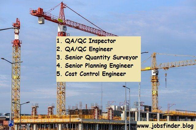 Jobs In Qatar Qa Qc Inspector Jobs Qa Qc Engineer Jobs Senior Quantity Surveyorjobs Qatar Jobs Admin Jobs Hotel Jobs Job