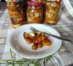 Podgrzybki marynowane na słodko | Kuchnia Starowiejskiej Gospodyni