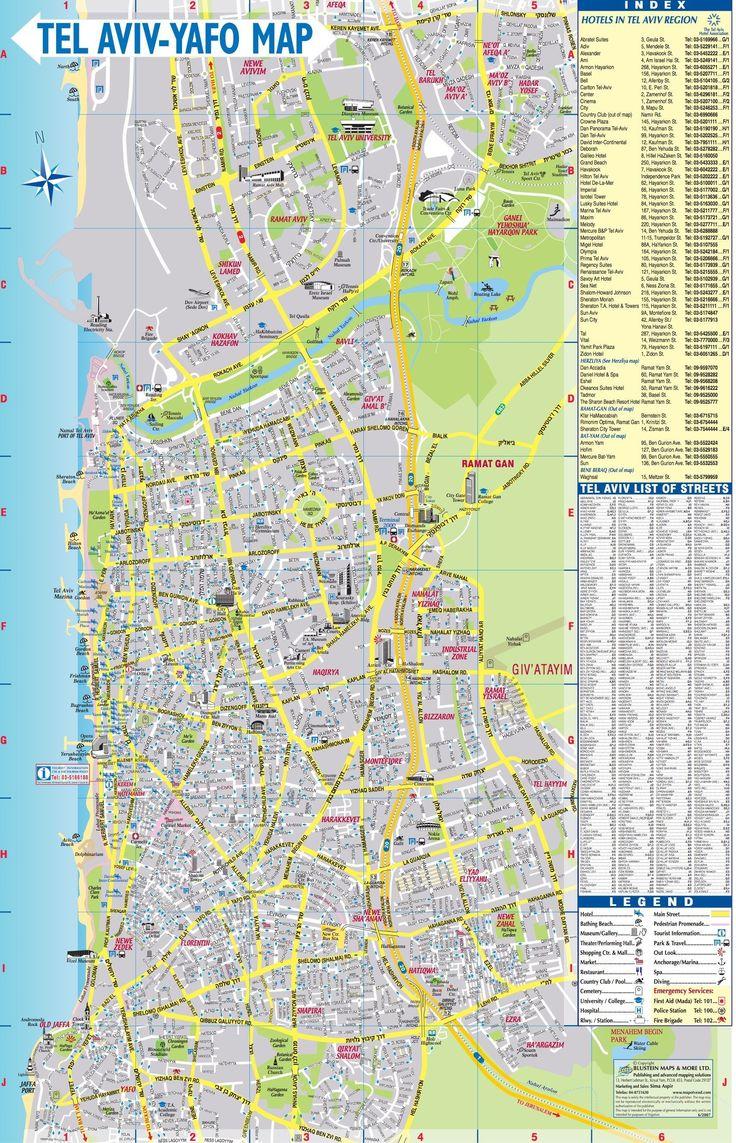 tel aviv map  maps  pinterest  tel aviv tel aviv israel andisrael. tel aviv map  maps  pinterest  tel aviv tel aviv