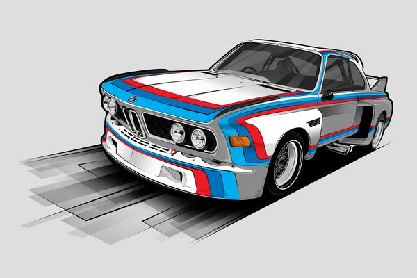 CAR & INTERIOR / VECTOR / 2011-2012 by HBIII ART, via Behance