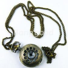 Peak-a-boo Pocket Watch #bronze #gold #jewelry #necklace #pendant #pretty #steampunk #vintage 40% off orders over $50.  Free shipping and handling orders of $25 or more.  #Christmas #Present  www.ceesquared.ca