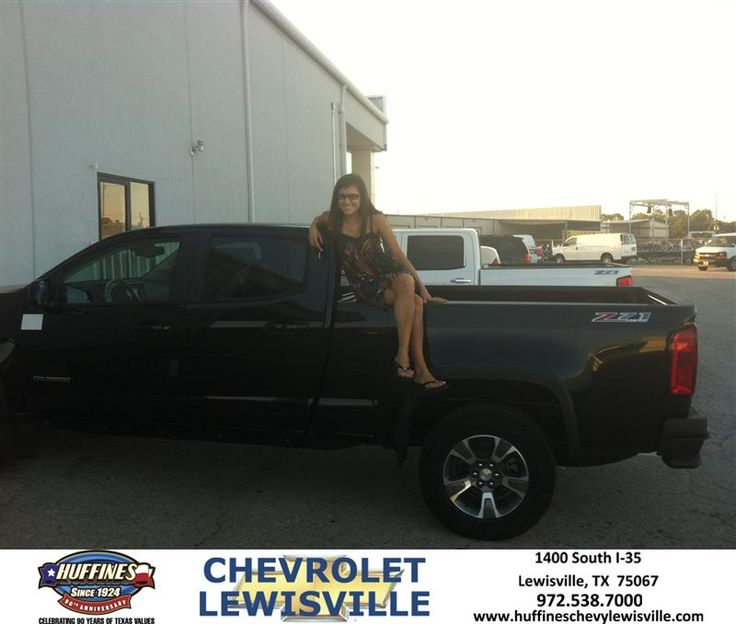 After experiencing a total loss on my 2006 Chevy Colorado, I was devastated. We came down to Huffines and were fortunate enough to meet David. He gave me all the information I needed to make an educated decision and I put a down payment on a vehicle I hadn't even seen! I have fallen in love with my truck and am eternally grateful to Huffines for helping me find a vehicle. Thanks David for guiding me through the process of my first NEW truck!  Meagan Nelan Wednesday, October 01, 2014