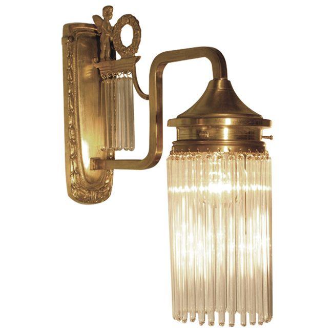 Stile Floreale-Kristallglas-Wandlampe VENEZIA I von Art Nouveau Lamps