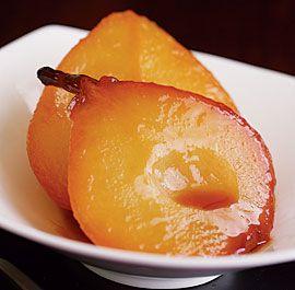 Honey-Roasted Pears