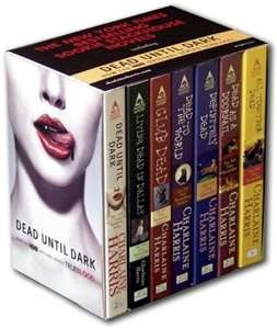 Charlaine Harris  Sookie Stack House Series    Stuff I read for fun.  I've read all the books in the series.