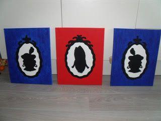 sinterklaas en zwarte piet schilderijen