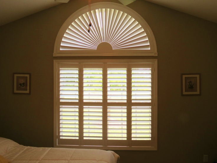 Beautiful Job Arched Plantation Shutter And Plantation