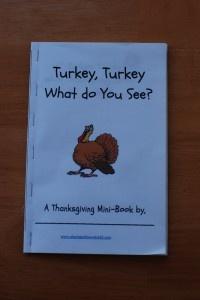 Turkey, Turkey What do You See? - Freebie