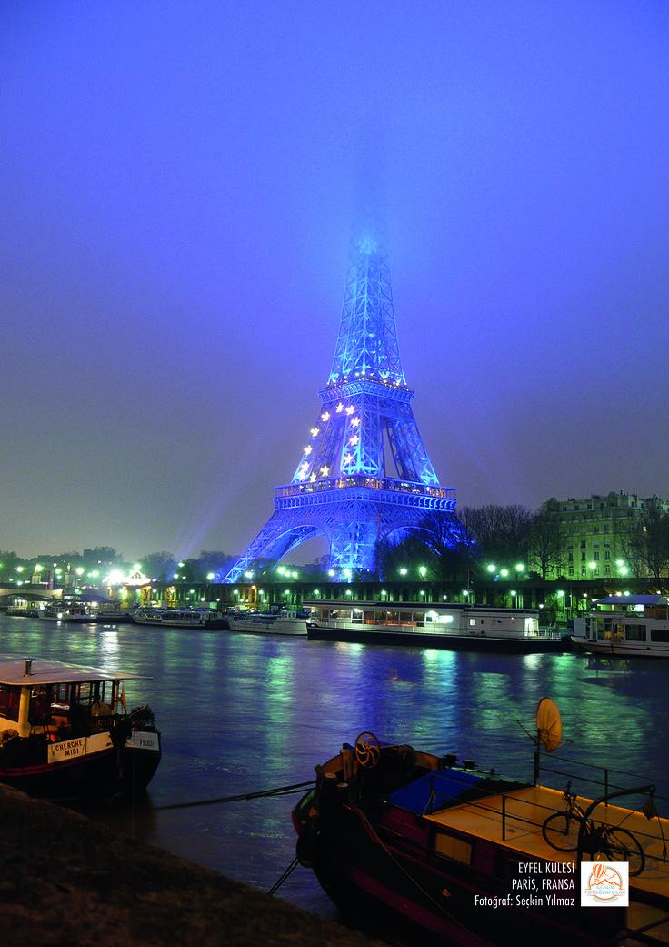 Eyfel Kulesi, Paris, Fransa. Fotoğraf: Seçkin Yılmaz.