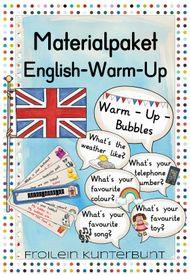 Materialpaket English-Warm-Up – Unterrichtsmaterial in den Fächern Englisch