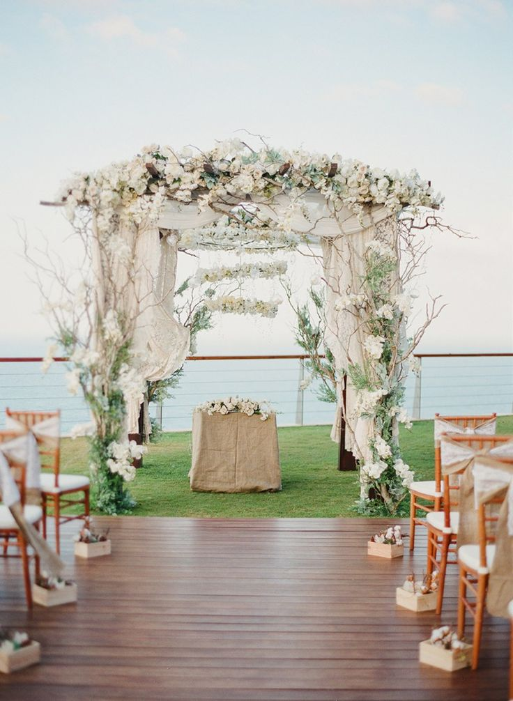 195 best gardenoutdoor wedding images on pinterest a rustic glam outdoor wedding at the edge bali junglespirit Image collections