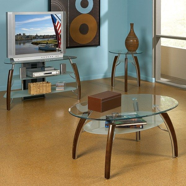 Steve Silver Company AT150 - Atlantis Coffee Table Set | The Simple Stores