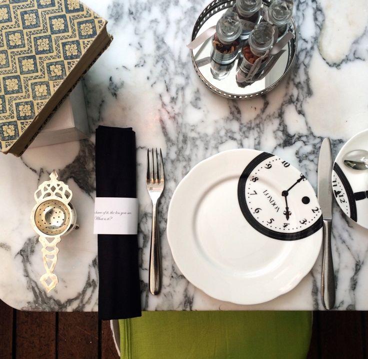 Tea Time @ Sanderson Hotel