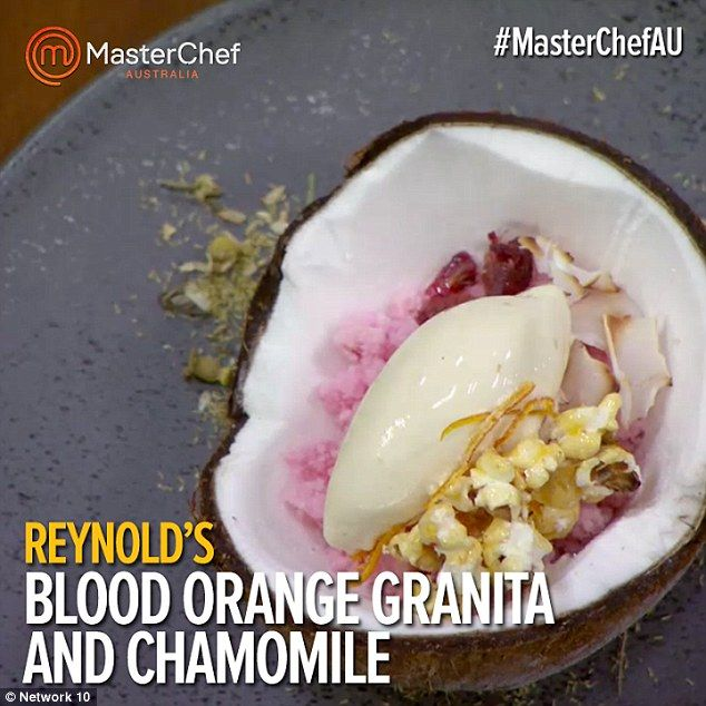 reynold masterchef dishes - Google Search