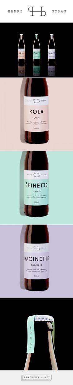 Henri Sodas Packaging by Ugo Varin | Fivestar Branding – Design and Branding Agency & Inspiration Gallery