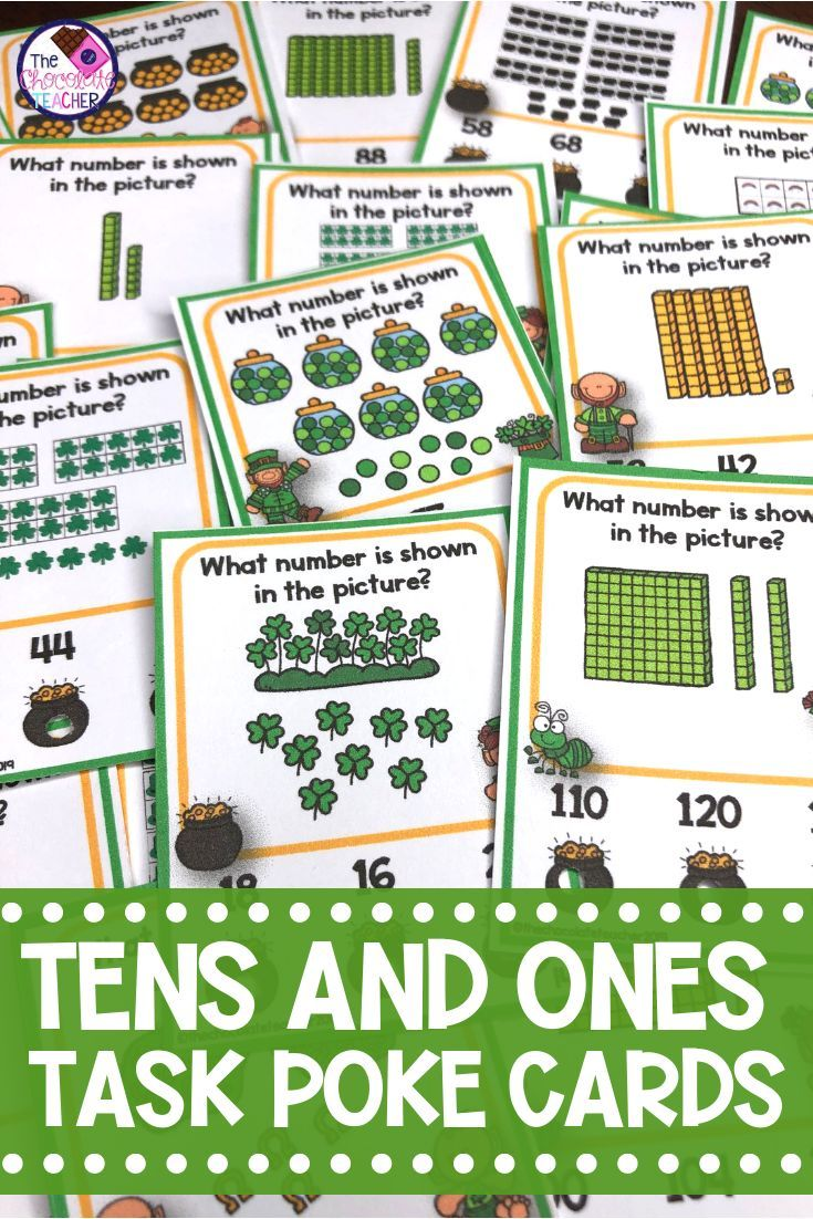 Place Value Tens And Ones St Patrick S Day Math First Grade Math Worksheets Tens And Ones Place Values [ 1102 x 735 Pixel ]