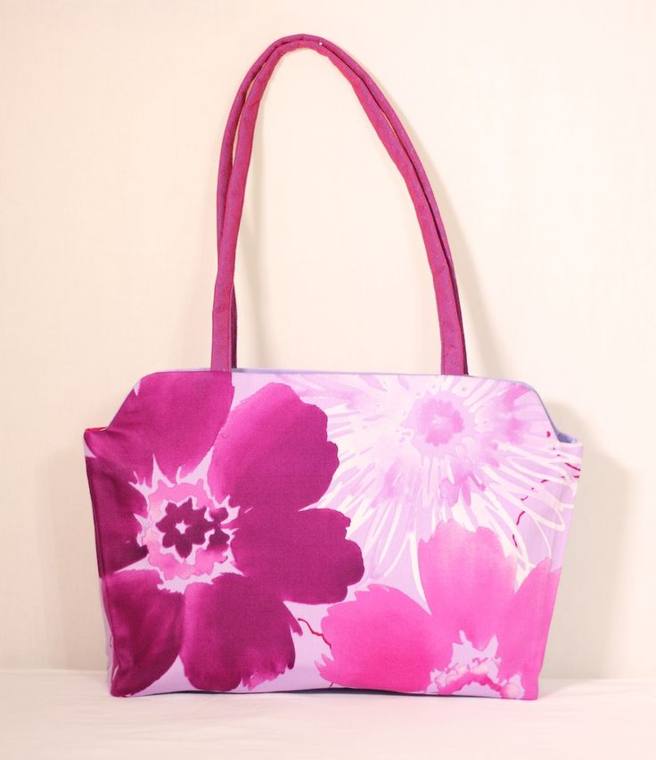 The Flower Art tote. Bought this print in Trinidad - happy with the results.  Always, Andrea