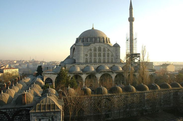 Istanbul - Mesquita de Mihrimah - Mihrimah Sultan Camii (Edirnekapı) - Vikipedi