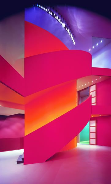 The Groninger Museum Of Contemporary Art With Fresh Revitalisation From Various Talented Designers Groningen Netherlands