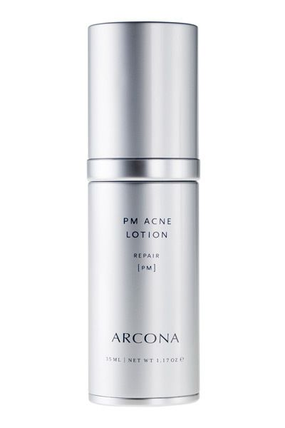 (3.8/5) Retinol Products to Try.    Arcona PM Acne Lotion, $52  Tried-and-true retinol, lactic and salicylic acids, and tea tree extract clean out pores and reduce pimples.