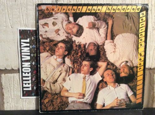Haircut One Hundred Pelican West LP Album Vinyl HCC100 Pop 80's Nick Heywood EX Music:Records:Albums/ LPs:Pop:1980s