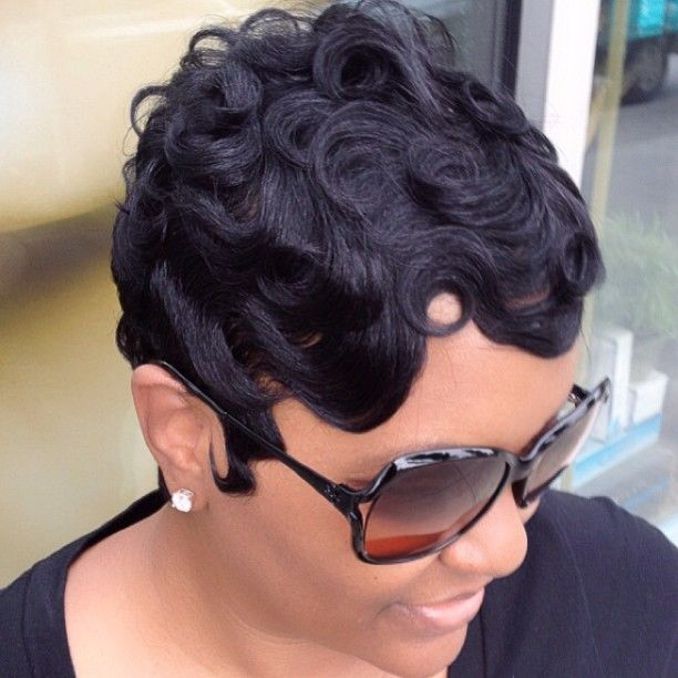 short hairstyles for big women : Finger waves making a come back! Incredible Kingdom of Black Hair ...