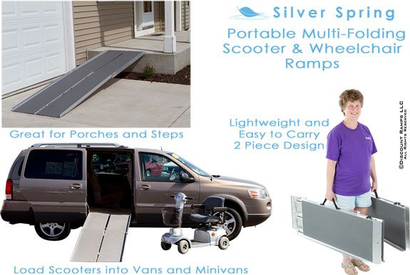 Portable Scooter Ramps