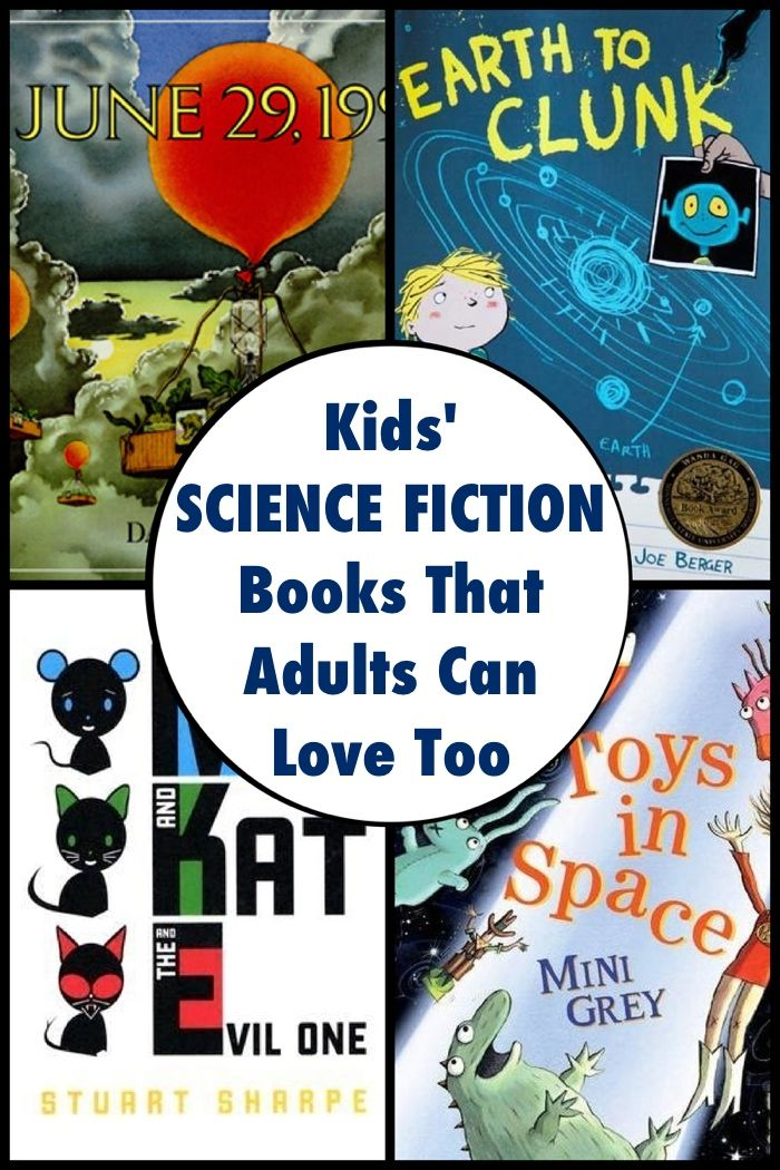 Kids' Science Fiction Books For Geeks of All Ages